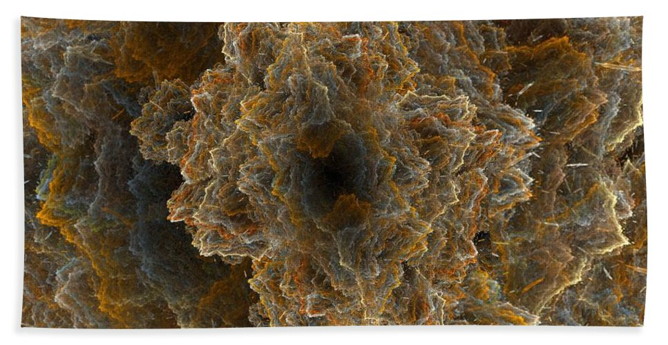 Fractal Hand Towel featuring the digital art Perfect Storm by Ron Bissett