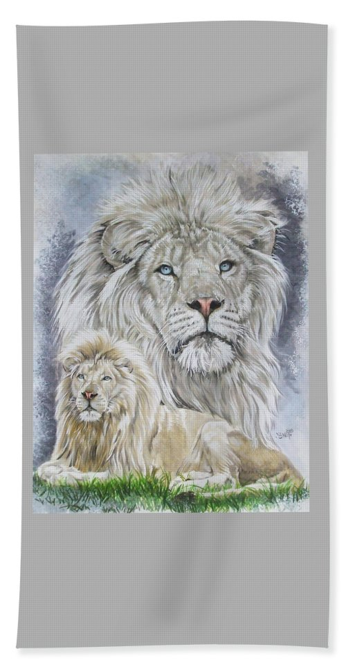 Art Bath Towel featuring the mixed media Phantasy by Barbara Keith