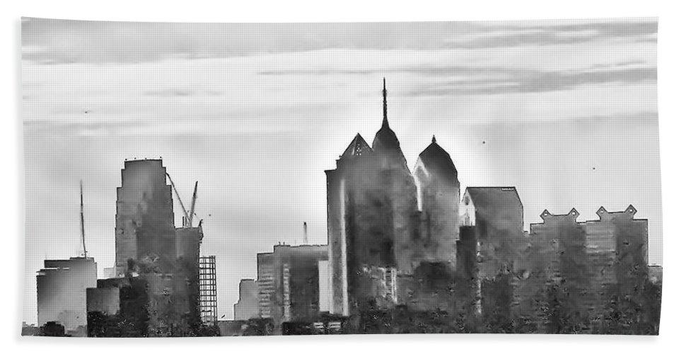 Philadelphia Bath Sheet featuring the photograph Philadelphia by Bill Cannon