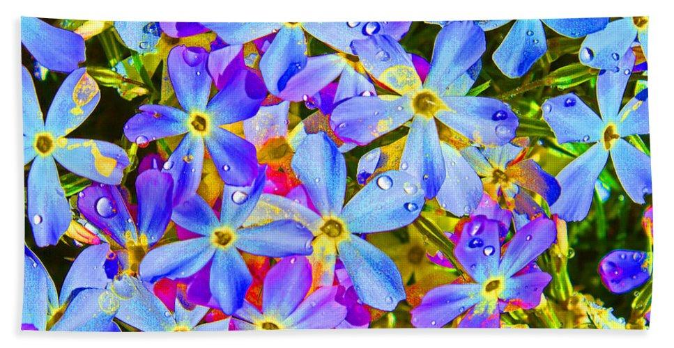 Wildflower Bath Sheet featuring the photograph Pincushion Flower by Heather Coen