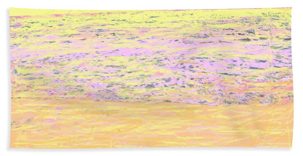 Seascape Bath Towel featuring the photograph Pineapple Sunset by Ian MacDonald