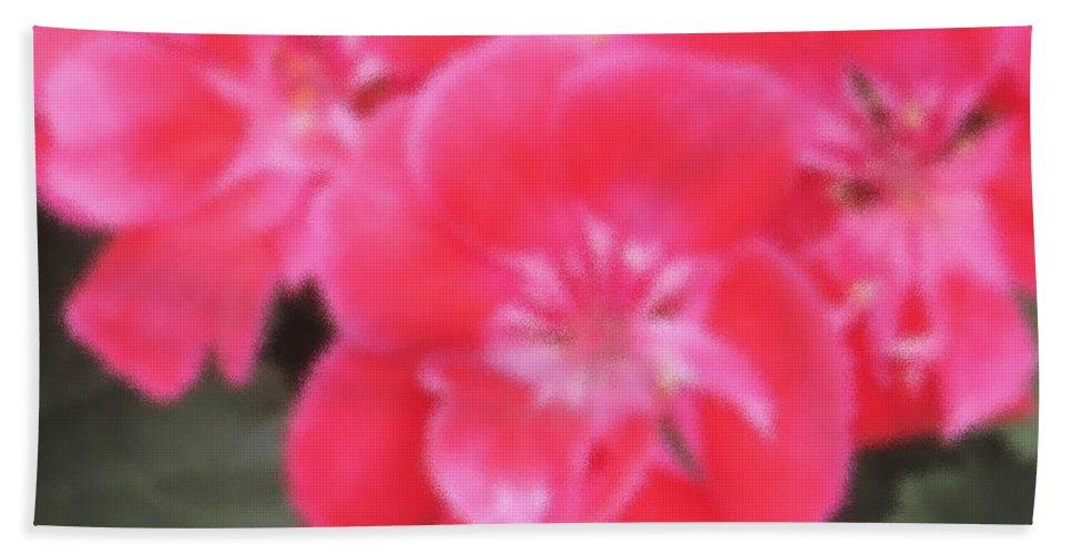 Pink Bath Towel featuring the photograph Pink by Ian MacDonald