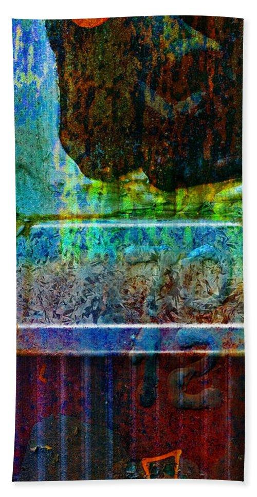 Pi Bath Sheet featuring the photograph piNsky by Skip Hunt