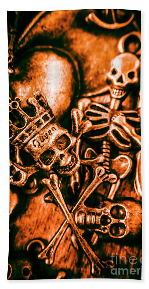 Jewelry Hand Towel featuring the photograph Pirates Treasure Box by Jorgo Photography - Wall Art Gallery