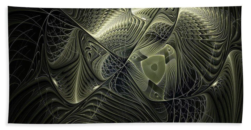 Digital Art Bath Sheet featuring the digital art Piscean I by Amanda Moore