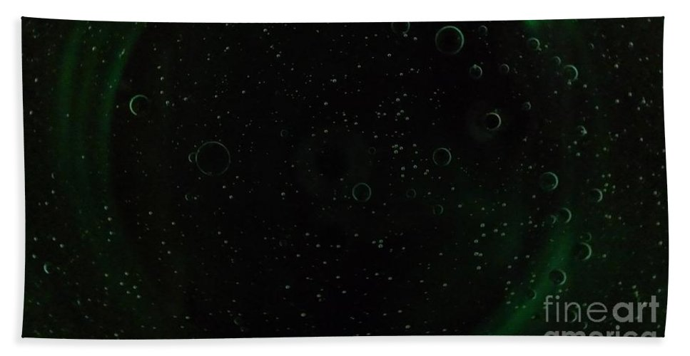 Water Hand Towel featuring the photograph Planets And Moons by LKB Art and Photography
