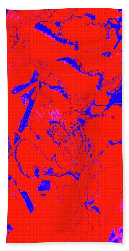 Trees Bath Sheet featuring the photograph Poinciana Flower 5 by Gary Bartoloni