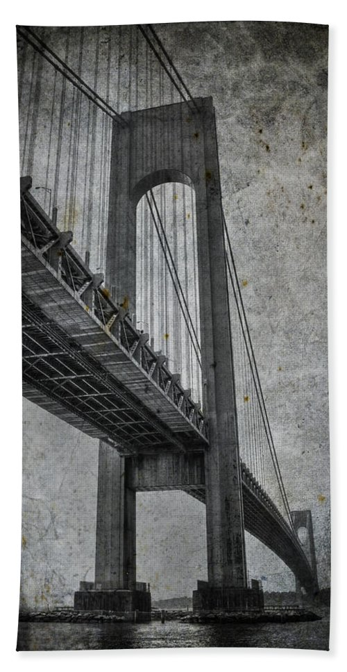 Bridge Bath Sheet featuring the photograph Point Of Origin by Evelina Kremsdorf
