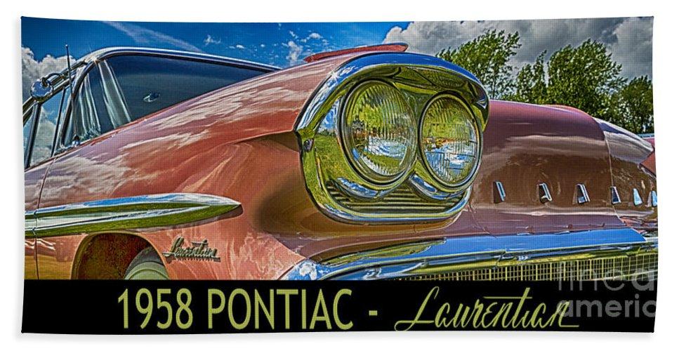 Wendy Hand Towel featuring the digital art Pontiac 3 by Wendy Wilton