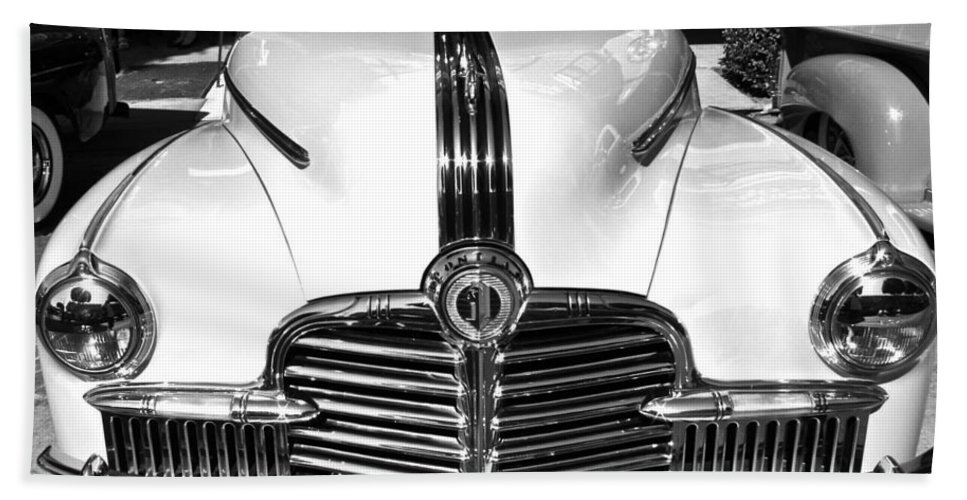 Photograph Bath Sheet featuring the photograph Pontiac by Gwyn Newcombe