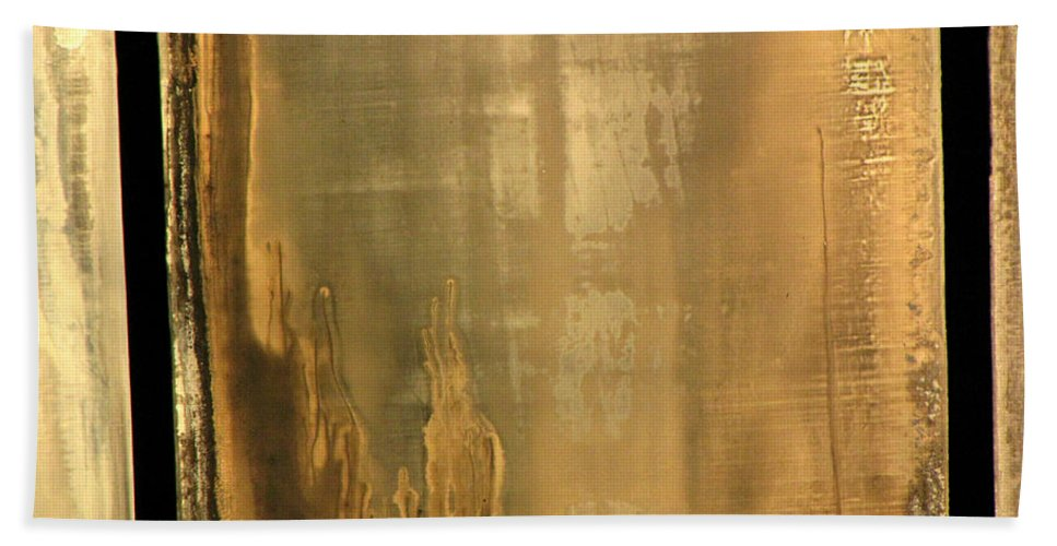Swimming Bath Sheet featuring the photograph Pool Reflections Three by Sarah Houser