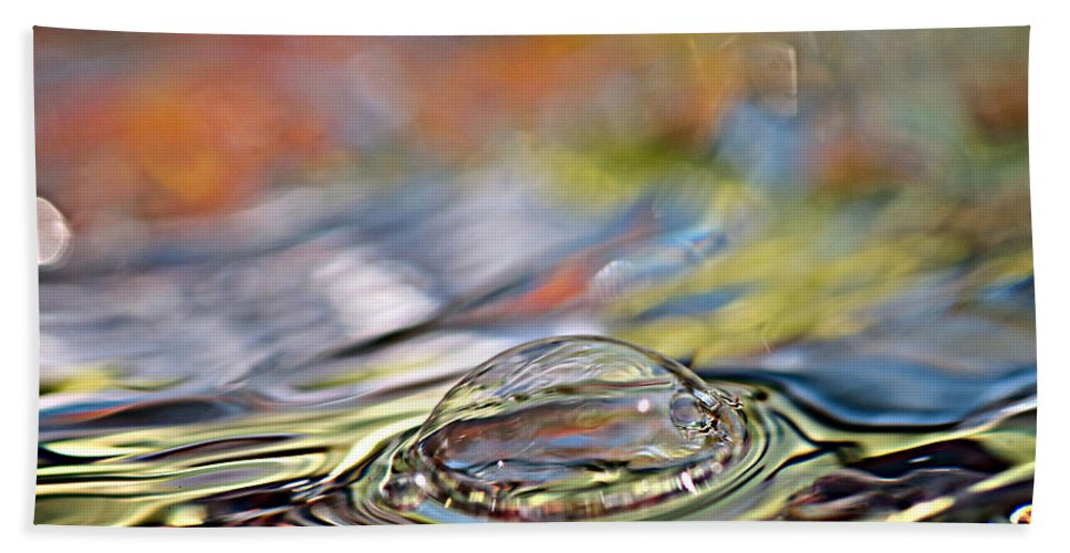 Water Bath Sheet featuring the photograph Pop Me by Lisa Knechtel