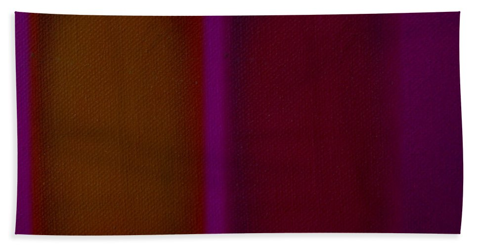Rothko Bath Towel featuring the painting Portal by Charles Stuart