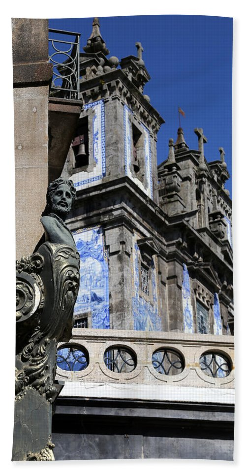Portugal Hand Towel featuring the photograph Portugese Architecture 1 by Andrew Fare