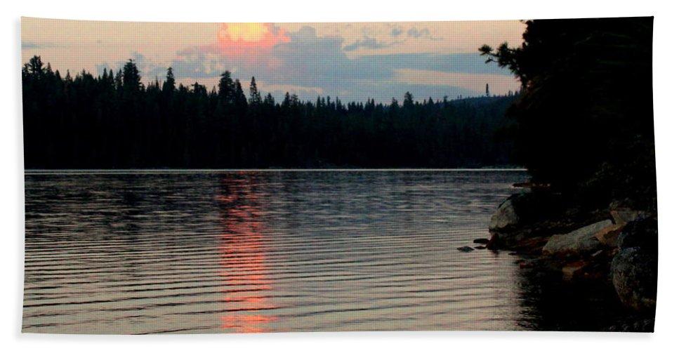 Lake Bath Sheet featuring the photograph Pre-sunrise by Matthew Farmer