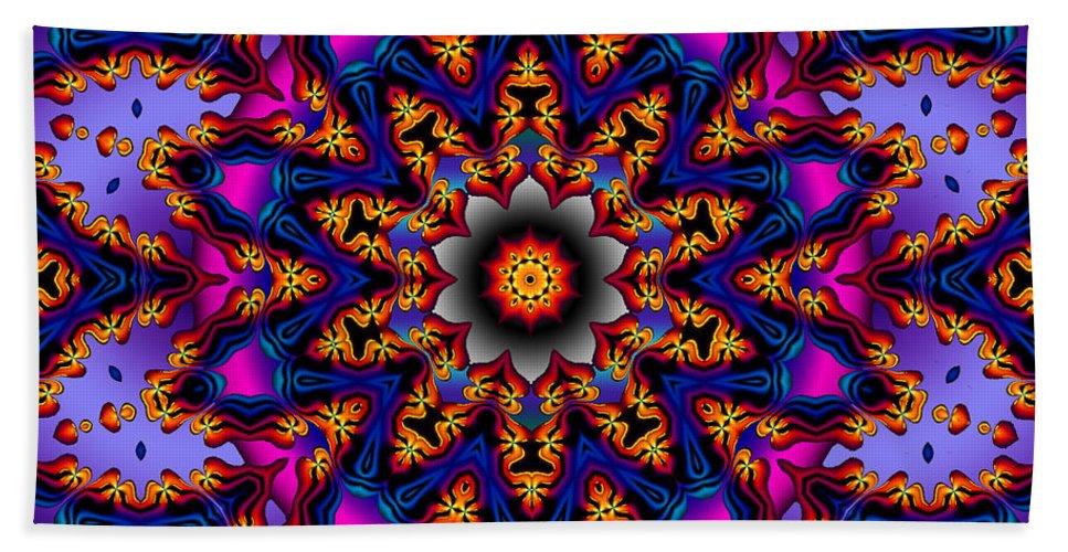 Design Hand Towel featuring the digital art Prime Time by Robert Orinski