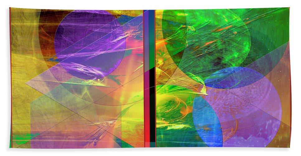 Progressive Intervention Bath Towel featuring the digital art Progressive Intervention by John Beck