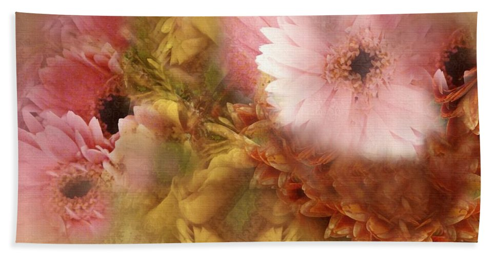 Dream Hand Towel featuring the painting Promises And Dreams by RC DeWinter