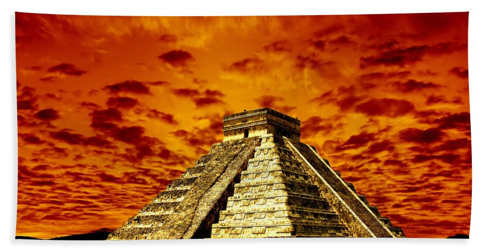 Photodream Bath Towel featuring the photograph Prophecy by Jacky Gerritsen