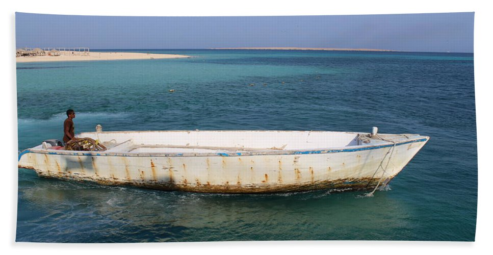 Sea Bath Sheet featuring the photograph Pure Blue Sea by Dave Lees