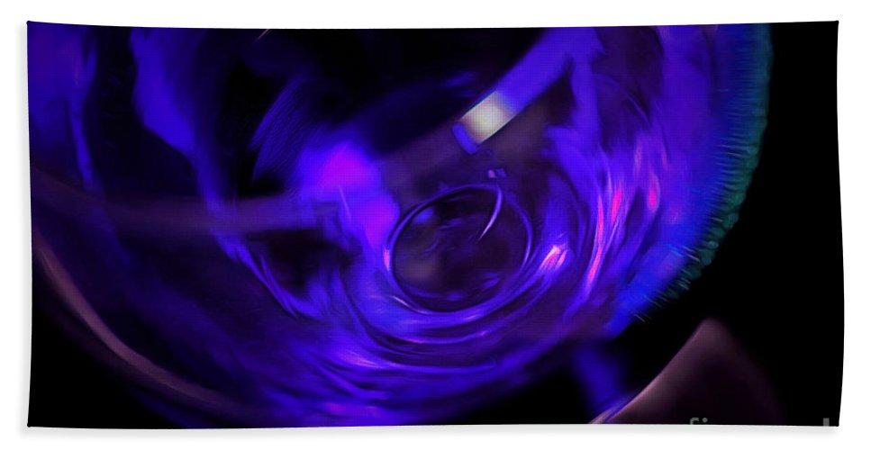 Wine Hand Towel featuring the photograph Purple Wine by Krissy Katsimbras
