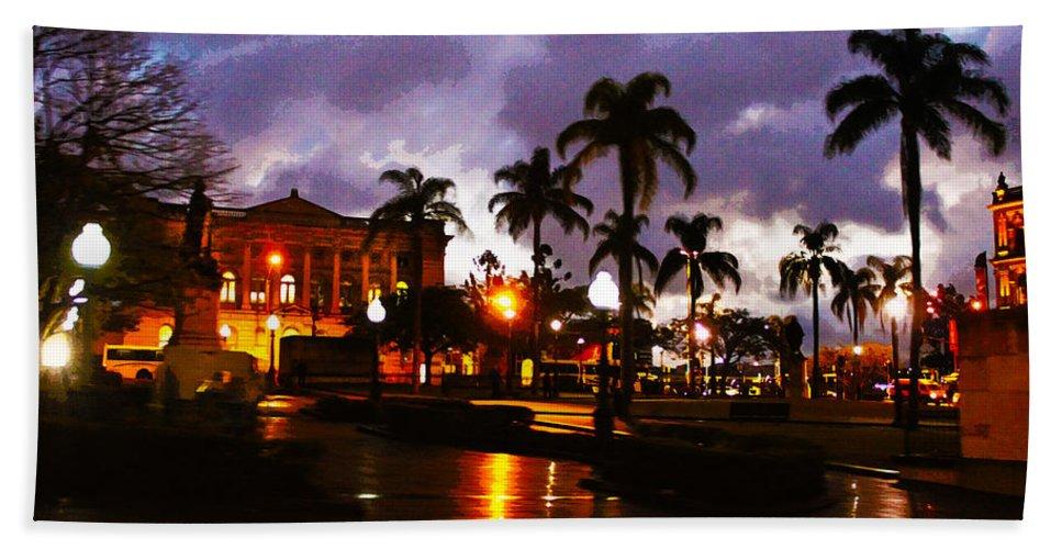 Brisbane Bath Sheet featuring the photograph Queens Park by Susan Vineyard