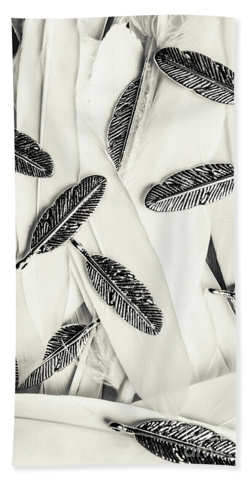 Feather Bath Towel featuring the photograph Quills Of A Feather by Jorgo Photography - Wall Art Gallery