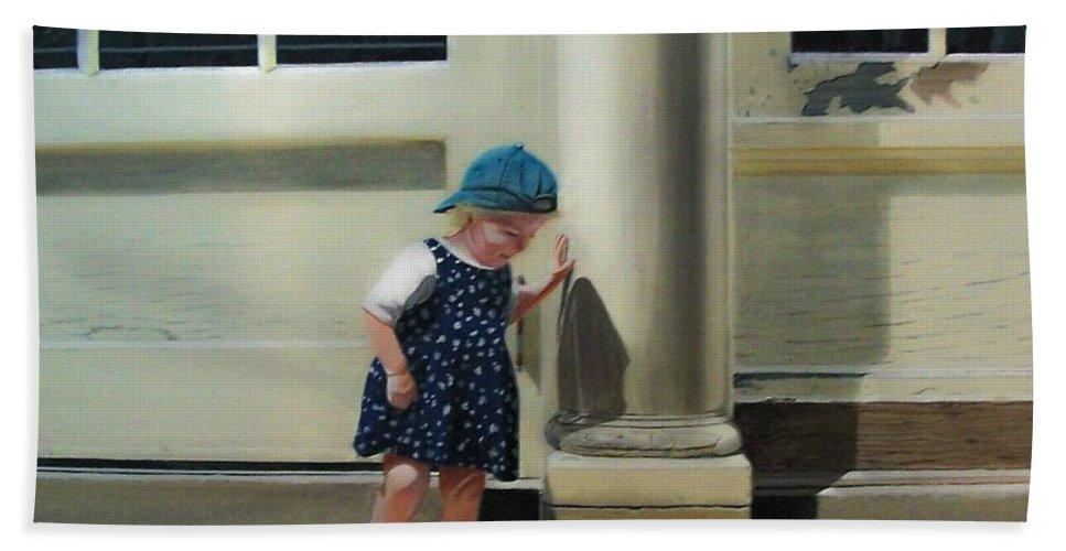 Children Bath Sheet featuring the painting Rachel by Kenneth M Kirsch