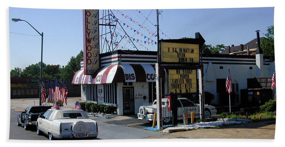 Memphis Bath Sheet featuring the photograph Raifords Disco Memphis B by Mark Czerniec