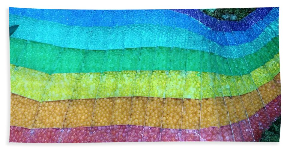 Bath Sheet featuring the photograph Rainbow by Dimitar Dimitrov