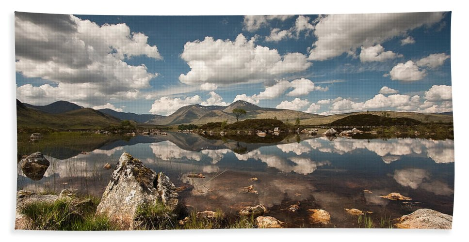 Scotland Bath Sheet featuring the photograph Rannoch Moor by Colette Panaioti