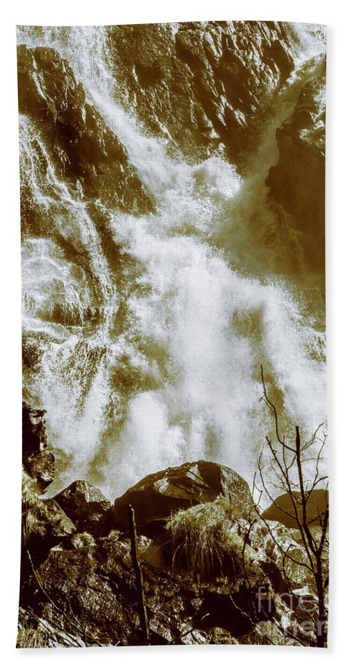 Rustic Bath Towel featuring the photograph Rapid River by Jorgo Photography - Wall Art Gallery
