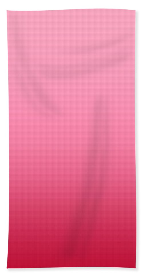 Raspberry Sorbet - Abstract Bath Sheet featuring the digital art Raspberry Sorbet - R Blended by Custom Home Fashions