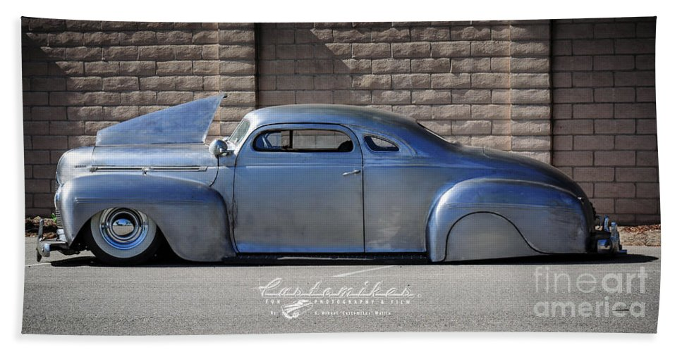 34 Th Annual Westcoast Kustoms Cruising Nationals Hand Towel featuring the photograph Raw Steel by Customikes Fun Photography and Film Aka K Mikael Wallin