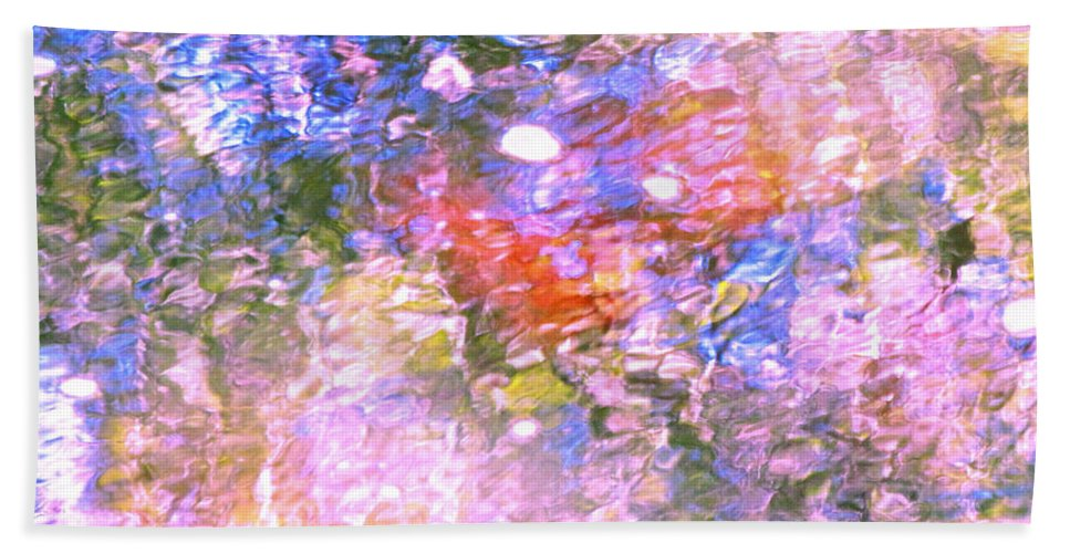 Abstract Hand Towel featuring the photograph Reaching Angels  by Sybil Staples