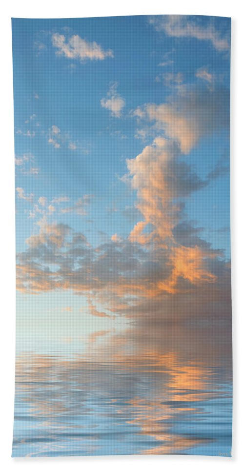 Original Art Hand Towel featuring the photograph Reaching High by Jerry McElroy