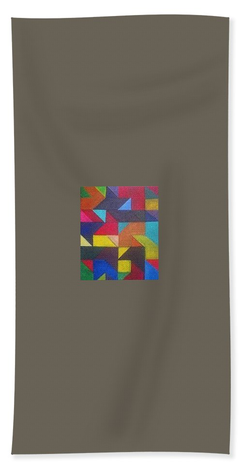 Digitalize Image Bath Towel featuring the digital art Real Sharp by Andrew Johnson