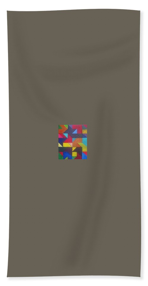 Digitalize Image Hand Towel featuring the digital art Real Sharp by Andrew Johnson