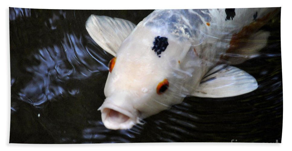 Clay Bath Towel featuring the photograph Red Eyes by Clayton Bruster
