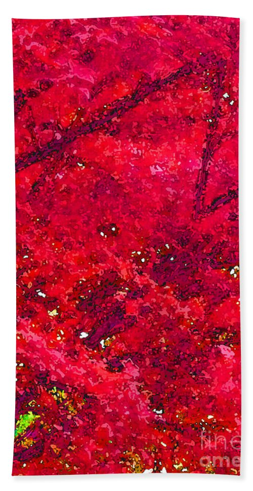 Maple Tree Hand Towel featuring the photograph Red Maple 2 Version 1 by Melissa A Benson