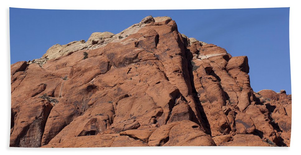 Rocks Bath Sheet featuring the photograph Red Rocks by Kelley King