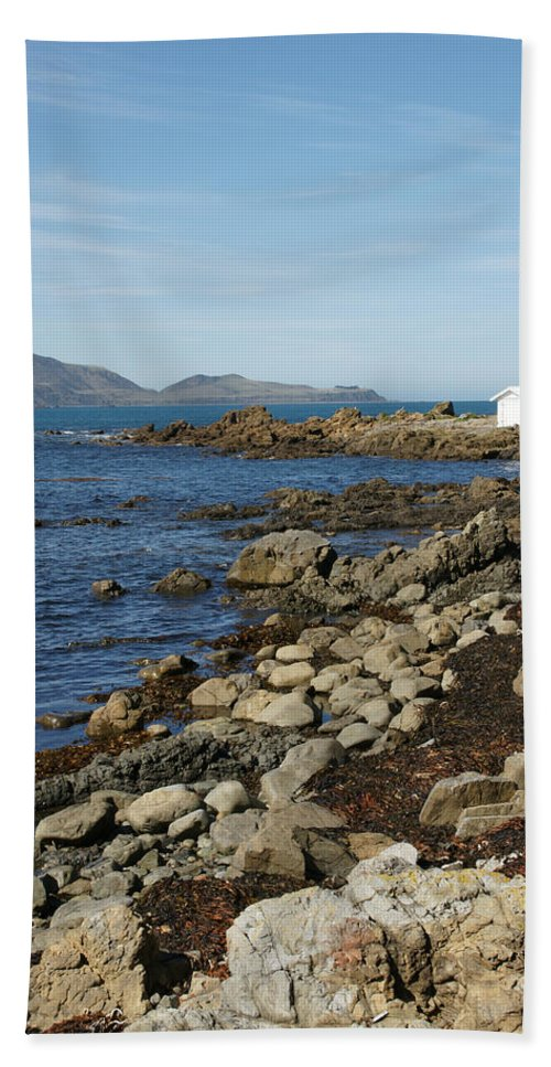 Reef Bay Hand Towel featuring the photograph Reef Bay Boathouse by Brandy Herren