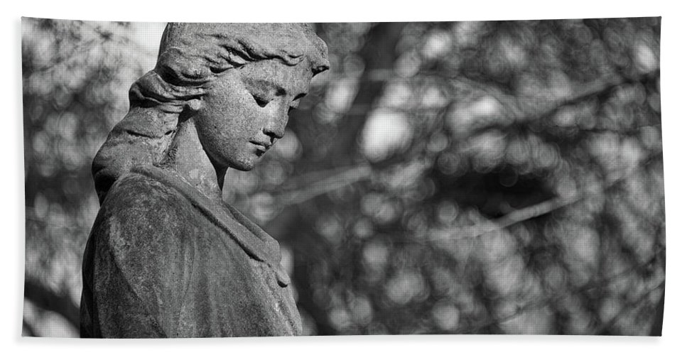 Anglican Bath Towel featuring the photograph Reflection by Monika Tymanowska