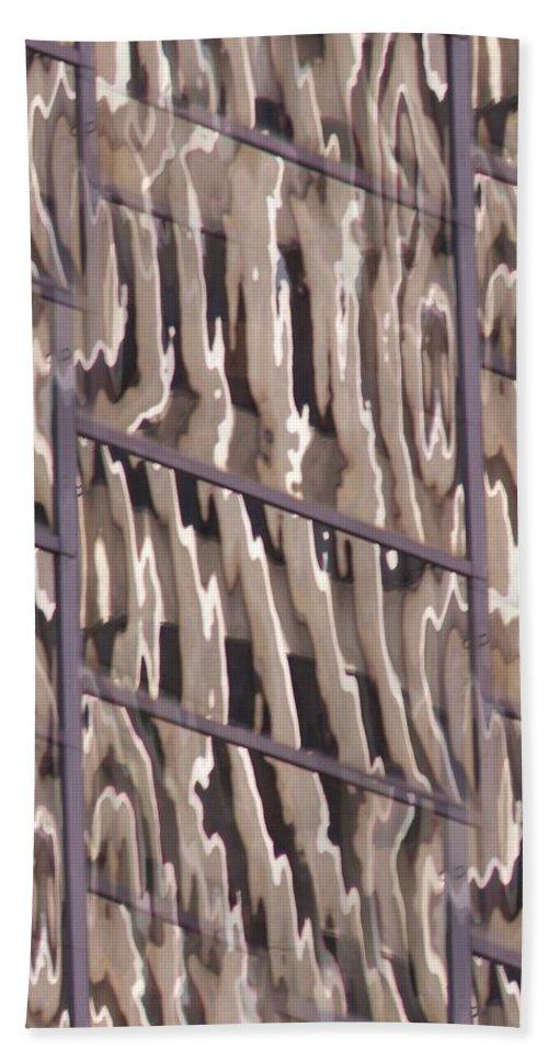 Reflection Bath Towel featuring the digital art Reflection by Tim Allen
