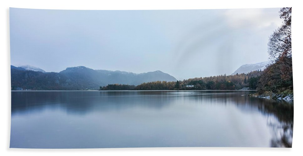 Landscape Bath Sheet featuring the photograph Reflections by Christopher Carthern