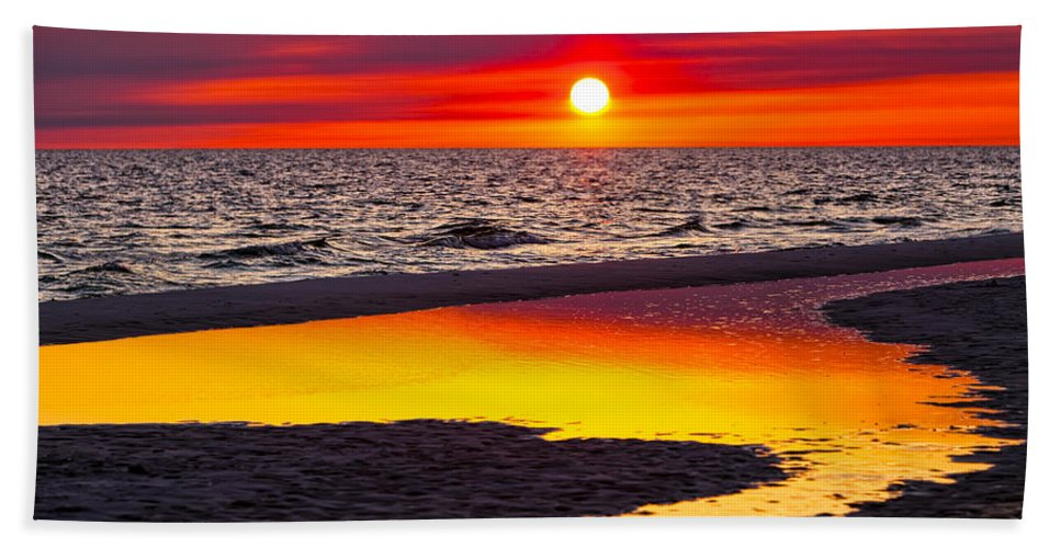 Reflection Bath Sheet featuring the photograph Reflections by Janet Fikar