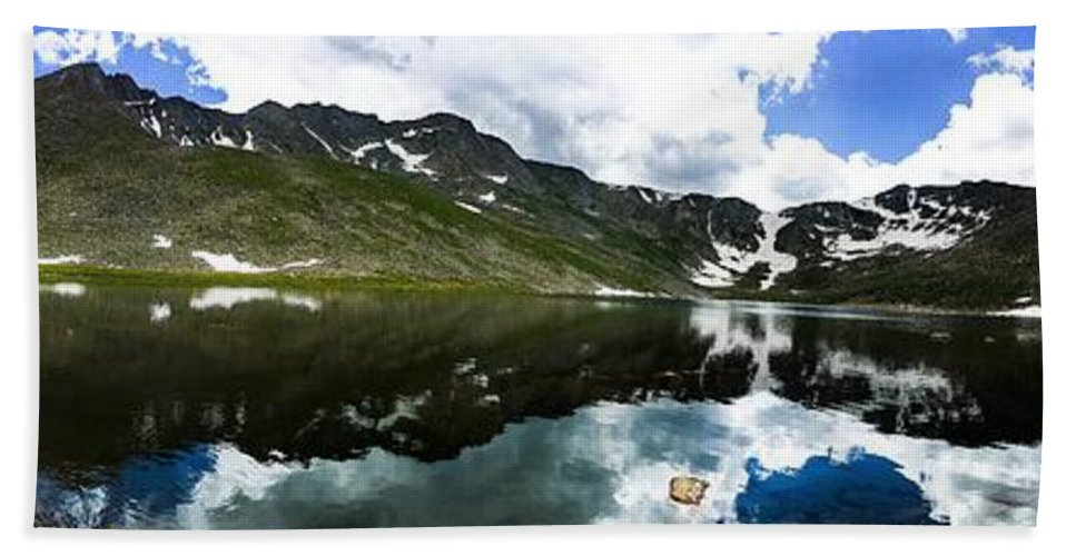 Travel Hand Towel featuring the photograph Reflections by Vartika Singh