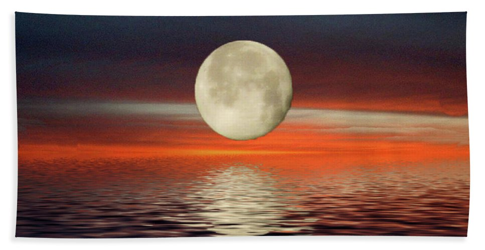 Reflections Bath Sheet featuring the photograph Reflections by Wanda-Lynn Searles