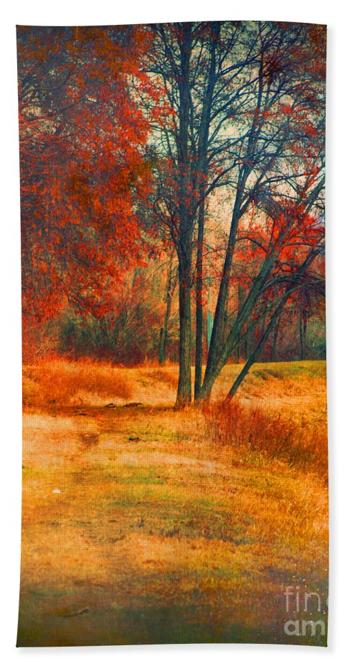 Trees Hand Towel featuring the photograph Remembering The Places I Have Been by Tara Turner