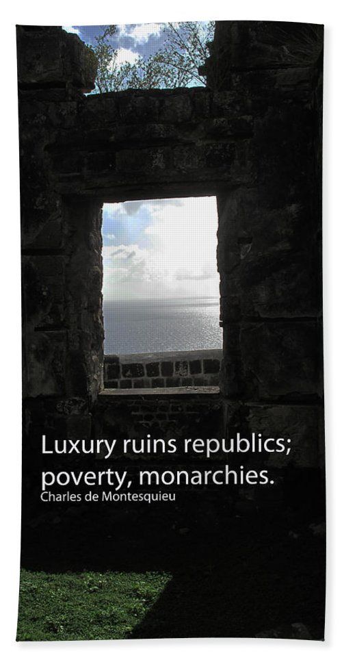 Luxury Bath Towel featuring the photograph Republics And Monarchies by Ian MacDonald
